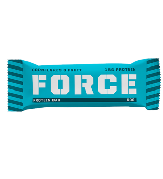 Force bar cornflakes & fruit